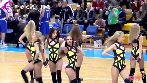 """""""金发碧眼""""是俄罗斯女孩的标签!啦啦队表演太精彩了"""