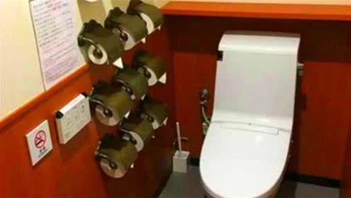 为啥日本厕纸薄到透明?三格厚度还不及中国一格,你敢用吗