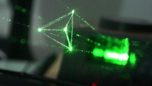 世界首款桌面级全息显示设备,空气成像成真,太惊艳了