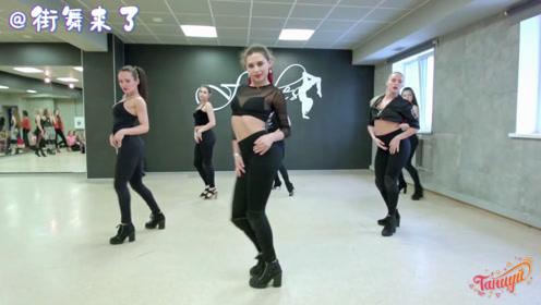 俄罗斯舞蹈老师跳爵士舞真有味道,看了好几遍
