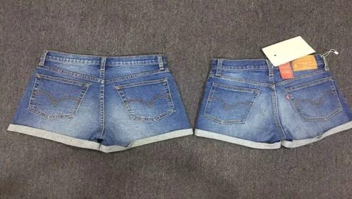 短裤不穿丢掉太可惜,简单改一改,成品很多美女都需要