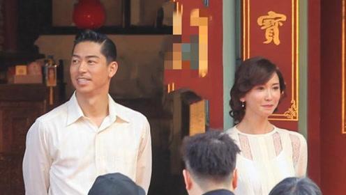 林志玲结束婚礼彩排满脸幸福 携丈夫向媒体致谢