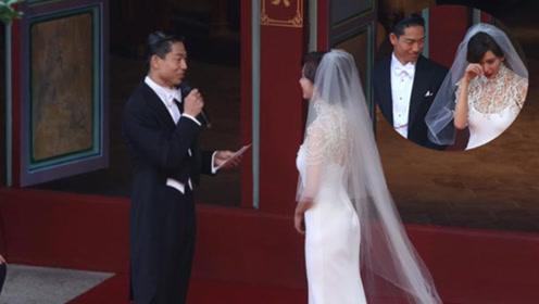 林志玲甜嫁嫁小七岁AKIRA 念誓词感动仙女落泪