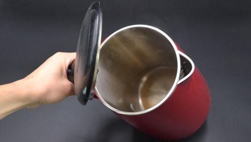 用电热水壶烧水,这3点不能忽视!不然烧水比塑料还毒,涨知识了
