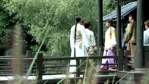 紫薇作诗,皇上说看来秋天真是令人发愁的季节啊!