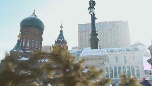 """""""冰城""""哈尔滨:屋子暖了天空蓝了市民笑了"""
