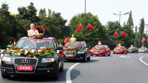 结婚的婚车遇上送葬的殡葬车,该咋办?老农:这样做婚姻甜如蜜