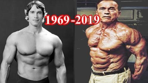 这是72岁的施瓦辛格!身体硬朗精神矍铄,不输27岁年轻人!