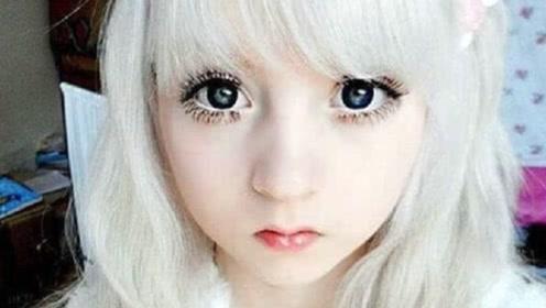 """世界皮肤最白女孩,人称最美""""白洋娃娃"""",18岁被捧为宅男女神"""