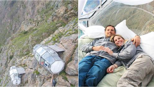 世界10大奇葩酒店,居然还有挂在悬崖上的!?
