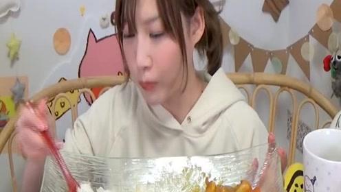 木下大胃王吃皇后咖喱!! 韩国简单奶酪和椰子咖喱!