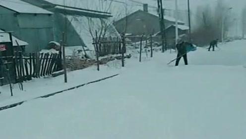 下了一夜的大雪,被包围在银装素裹的世界里,感觉生活节奏都慢了!