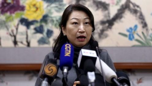 香港律政司司长郑若骅遭围攻受伤后首次露面 手绑绷带
