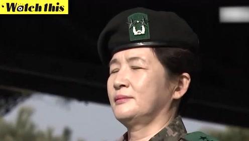 韩国陆军航空作战司令部首位女司令上任 司令部为其举行隆重就任式