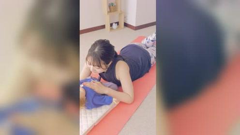 产后瑜伽:缓解腰部疲劳的瑜伽