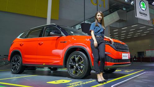 斯柯达柯米克GT车展实拍 PQ34平台打造的它 你会买么?