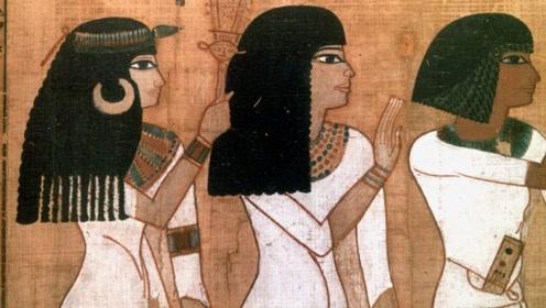长见识了!原来古埃及人的头发不是真的!竟然用这招骗了全世界