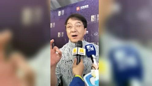 成龙:我要拍更多更好的电影,让全世界都认识中国电影