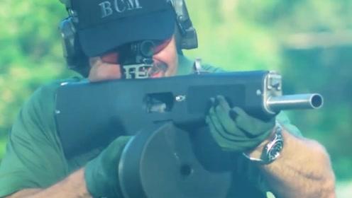 为啥运钞员非要用霰弹枪,而不用威力更大的步枪呢?看完涨知识了