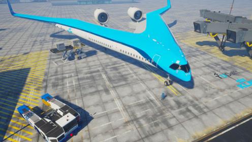 3个极具创意的未来飞机,乘客坐在机翼里这设计太惊艳