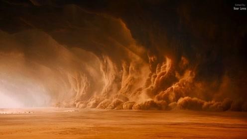宇宙中最狂暴的蓝色行星,几十级飓风中带玻璃,表面温度930度!