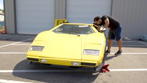 花3000块订购一辆兰博基尼,打开车门后,车主当场后悔了!