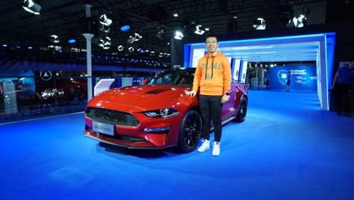 2019广州车展:一台有故事的2.3T 实拍福特Mustang特别版