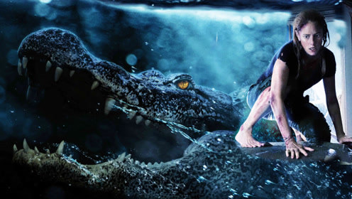 《巨鳄风暴》胆小勿入处处杀机,密闭空间人鳄对战不要太刺激