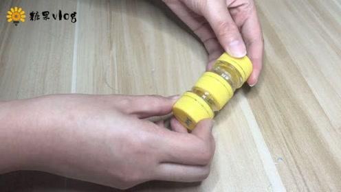 用矿泉水瓶口做一个小盒子,用来放小东西最方便了!