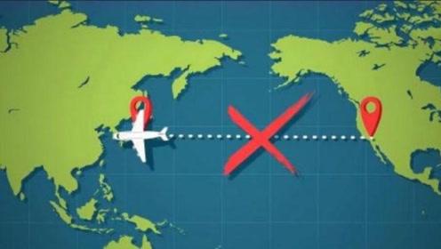 为什么飞机不能横跨太平洋,而要绕道飞行?看完涨知识了!