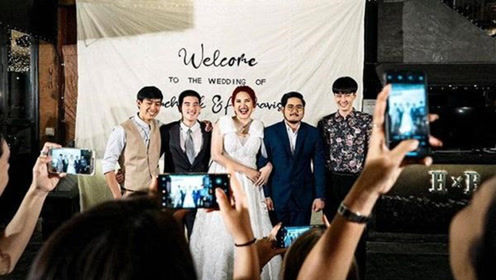"""泰国新娘摆婚宴广邀前任""""男友们""""参加,新郎的反应惊呆来宾"""