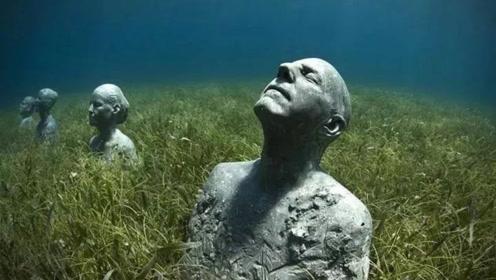"""世界上最""""特别""""的博物馆,隐藏在加勒比海底,游客需潜水参观"""