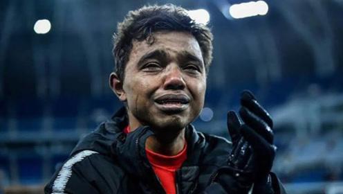 天海保级瞬间,31岁外援却是哭得最惨的!球迷怒喷本土国脚没责任感
