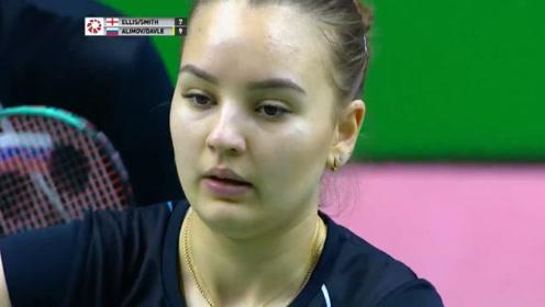 阿利莫夫 艾琳娜vs史密斯 埃利斯 印度国际赛 混双总决赛精彩集锦