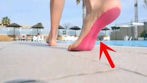 世界上最轻便的隐形鞋子,穿上跟没穿一样,网友:踩到石头就惨了!