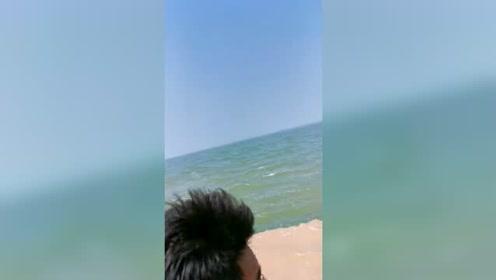 黄河入海口,看起来也太神奇了!