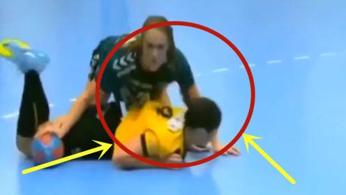 让人爆笑的比赛,女运动员的尴尬瞬间,承包一年的笑点!