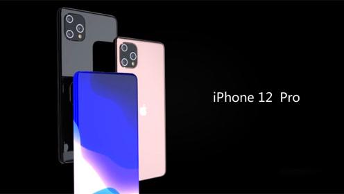 """没有""""刘海""""的iPhone 12 Pro曝光,全面+曲面,颜值碉堡了!"""
