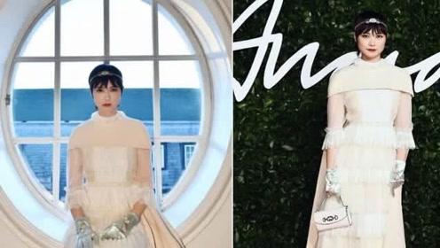 李宇春出席活动造型惊艳 从炫酷歌手化身高冷小公主