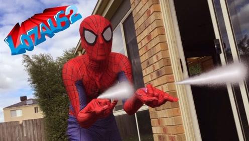 自制:蜘蛛侠和死侍在一起的奇葩日常