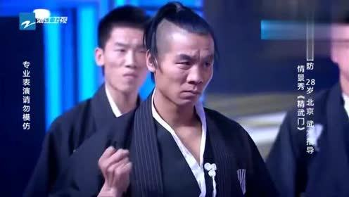 小伙演绎《精武门》,演员真功夫精彩夺目,成龙大哥看了都点头