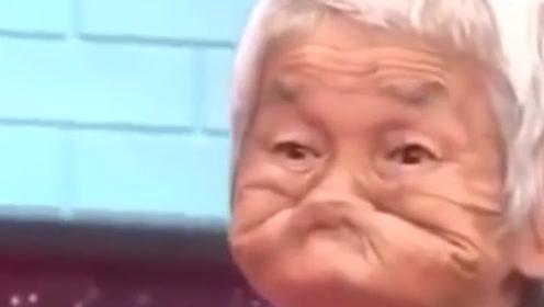 日本鬼脸大赛,谁先笑就算输,大爷只用一个表情征服全场!