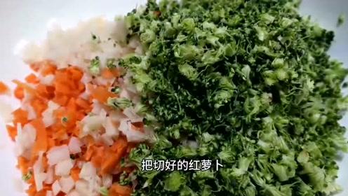 今天分享素菜丸子家常做法、简单好吃又好做、一口一个鲜嫩爽滑