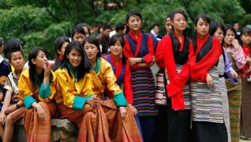 看一下不丹境内的农村,看不丹姑娘的真实生活,是心动的感觉!