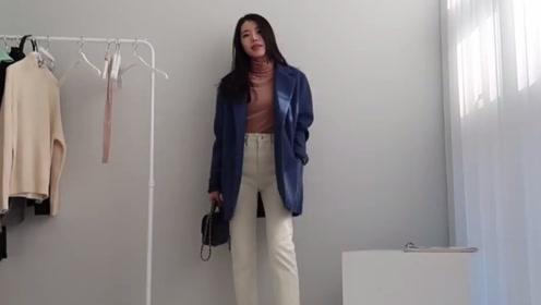 韩国时尚博主的日常穿搭分享