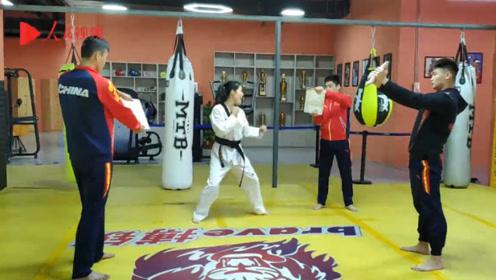 24岁女孩练跆拳道13年获得全国冠军,给父母10万补贴家用