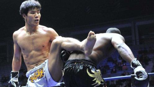 """日本拳手还不服?中国""""死神""""方便一腿踹趴对手,狠狠将其KO!"""