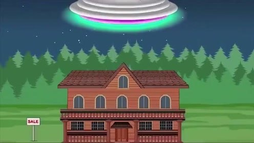 火柴人游戏:外星人来袭,直接抓走恐怖奶奶,要干嘛!