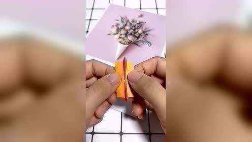 好厉害 折纸做成一张有趣会动的嘴巴 了解一下