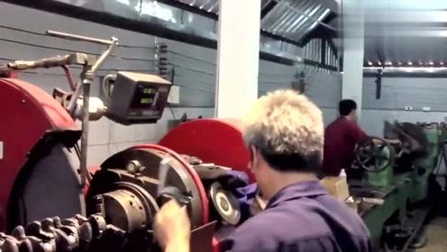 看完日本工厂加工发动机曲轴,才知道什么叫质量,不得不服!